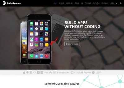 Drag & Drop Mobile APP Development System