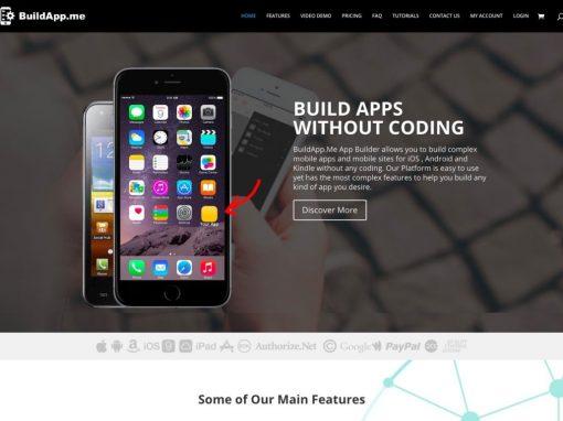 Drag & Drop Mobile APP Development System